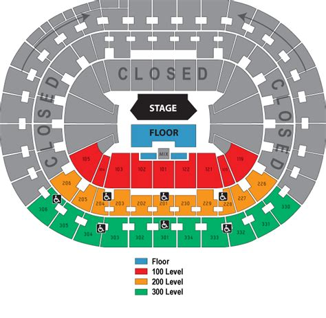 moda center seating map object moved