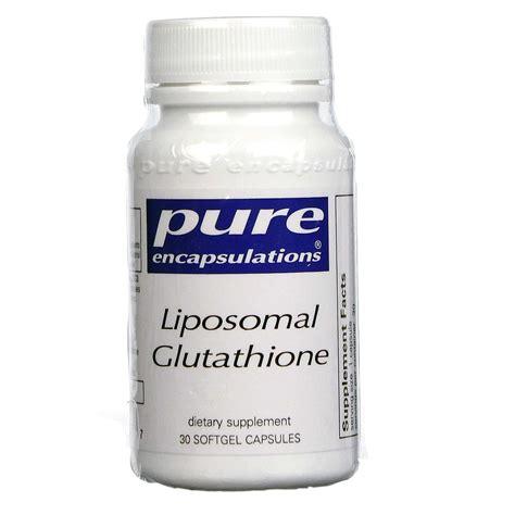 Gluta Suplemen buy encapsulations liposomal glutathione 30 caps