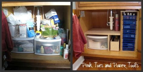 Diy Under Kitchen Sink Storage - happy new year and what i got done in 2012 pink toes and power tools