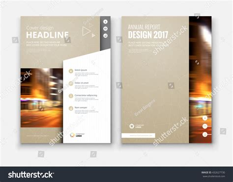 catalog covers catalog cover design corporate business template stock