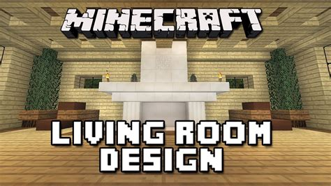 minecraft tutorial   build  house part  living