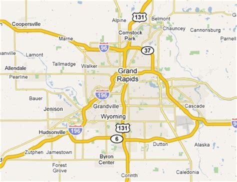 map usa grand rapids grand rapids metro area web design development firms on