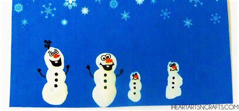 frozen inspired holiday cards  fingerprint snowmen frozen crafts holiday cards christmas