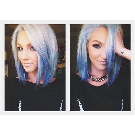 platinum blonde 27 piece hair best 25 blue hair streaks ideas on pinterest