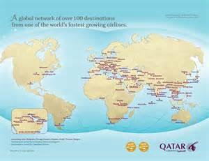 Qatar On World Map by Doha Map