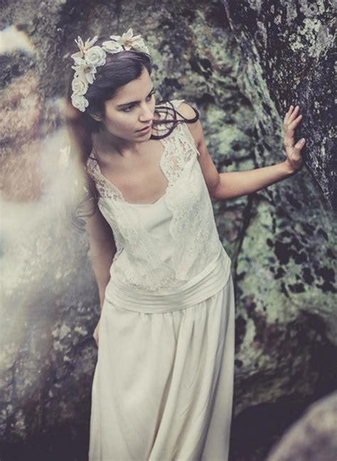 Robe Mariee Retro Boheme - laure de sagazan les robes de mari 233 es esprit vintage