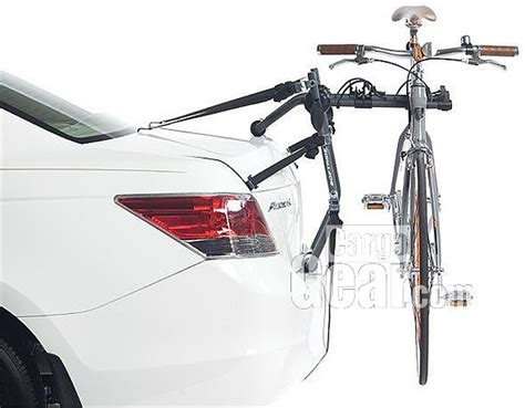 Car Trunk Bike Rack by Trunkster Bike Rack For Car Trunk