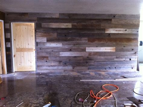 distressed wood accent wall 17 best images about distressed wood on accent