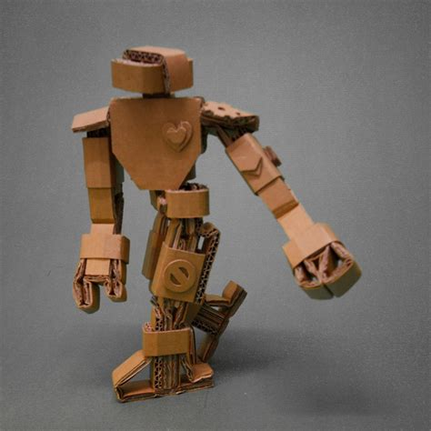 Cardboard Papercraft - papercraft cardboard robots
