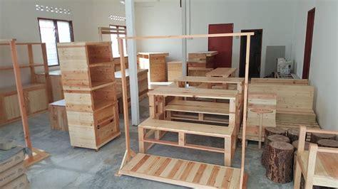Meja Kayu Pallet Malaysia kayu warisan malaysia barang barang perabut kayu pine dan