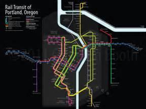 rail transit of portland oregon flickr photo