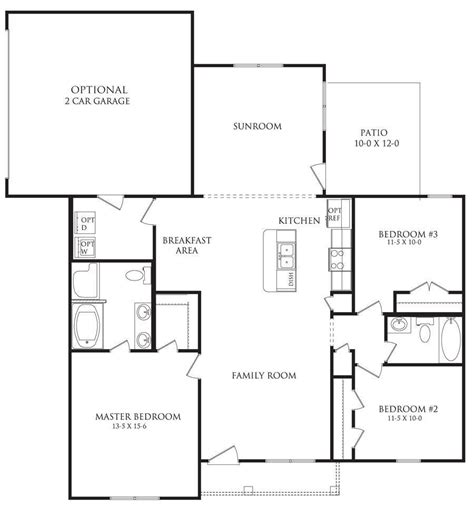 berkshire floor plan berkshire floor plans danric homes