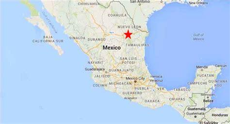 map of monterrey mexico monterrey nuevo laredo on the road in mexico