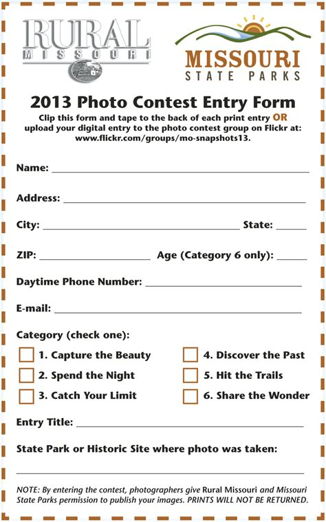 sweepstakes entry form template pin ballot form template image search results on
