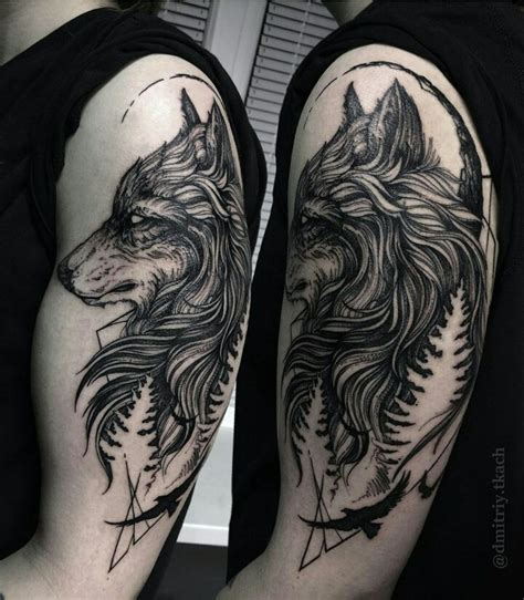 two spirit tattoo 25 cool wolf design ideas suitable for you who