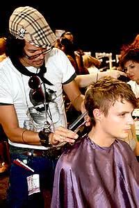 brad ngata wedding hair hairstyles from australian fashion week thehairstyler com