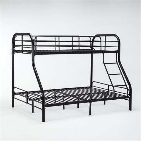 metal frame futon bunk beds twin over full metal bunk bed frame kids teens adult dorm