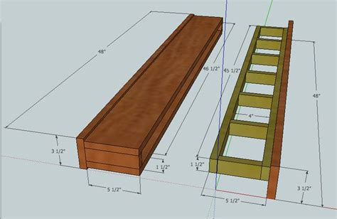 Floating Mantel Shelf Plans   WoodWorking Projects & Plans
