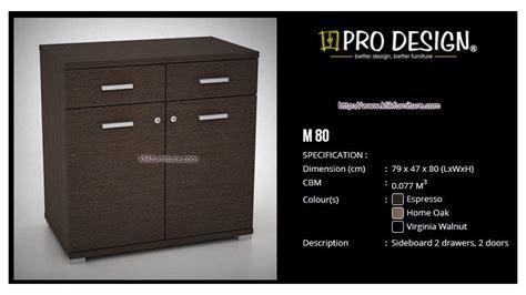 Filing Cabinet 4 Laci Uno Gold Ufl 4254 bufet pendek minimalis m 80 marvel pro design