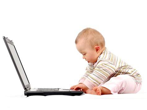 wallpaper for laptop baby cute baby laptop