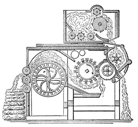 cotton gin diagram cotton gin