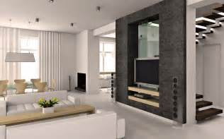 high definition white design interior living room modern