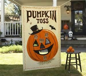Halloween Decorations Games Pottery Barn Kids Pumpkin Toss Game Halloween Carnival