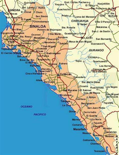 map of mexico sinaloa corrido de heraclio bernal history
