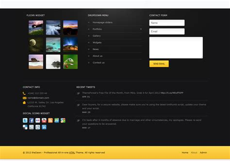 premium html themes download thedawn premium all in one html theme by mbiz themeforest
