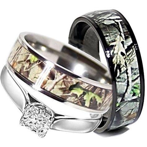 Wedding Rings Camo by 10 Unique Camo Wedding Ring Sets Ipunya