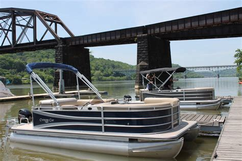 boat rental pittsburgh skipper a pontoon on the three rivers with the new boat