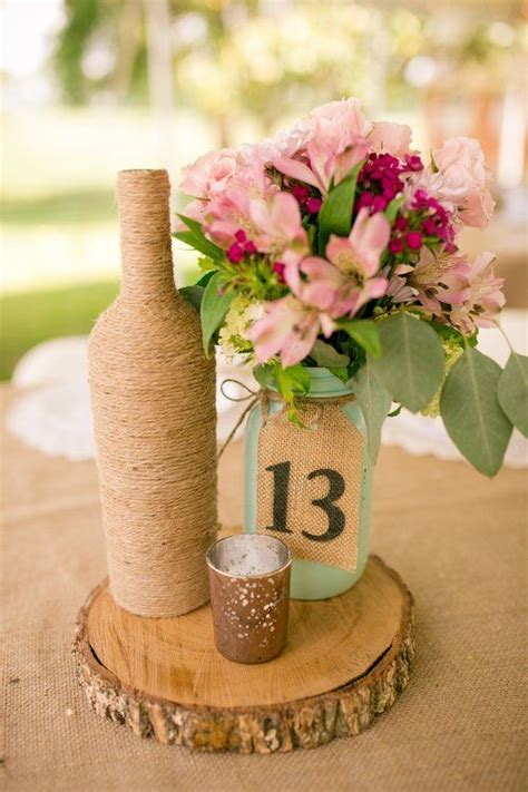 1000  ideas about Wine Bottle Centerpieces on Pinterest