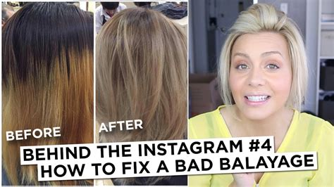 how to a bad the instagram 4 how to fix a bad balayage