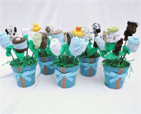 Handmade Baby Shower Centerpieces - baby boy decorations best baby decoration