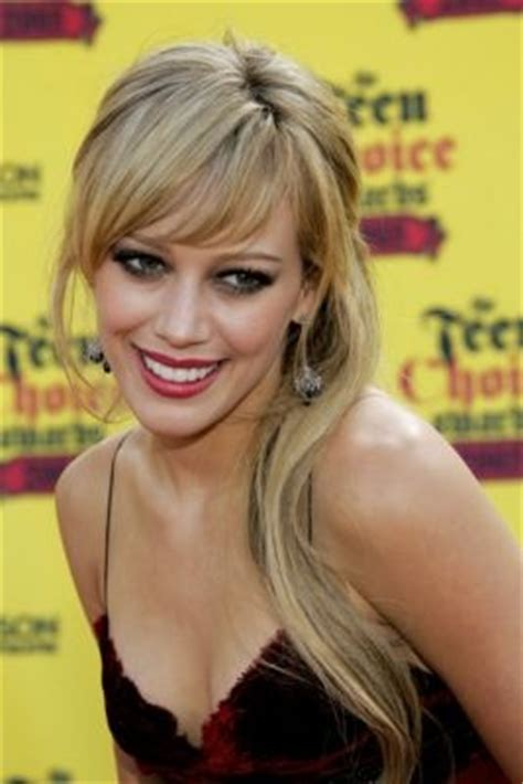 hillary farrs hairstyles with bangs hilary duff bangs hilary duff pinterest the winter