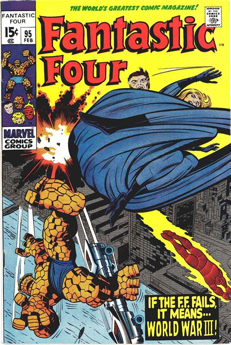 the prisoner kirby gil edition fantastic four 95 quot if the ff fails it means wwiii quot
