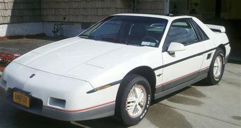 1984 pontiac fiero pace car special