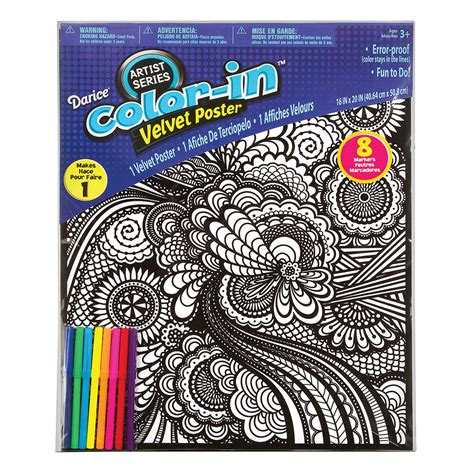velvet coloring posters geometric velvet coloring posters for crafting
