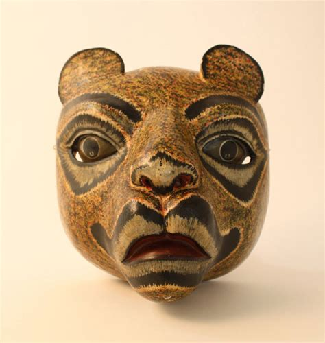 Masker Indo lioness mask bali indonesia object lessons ceremony celebration puppets masks