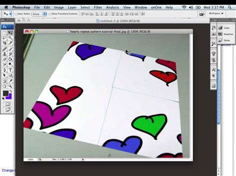 photoshop pattern tutorial youtube creating a seamless repeat pattern using photoshop youtube