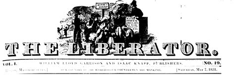 The Liberator by The Liberator Our Country Is The World Our Countrymen Are