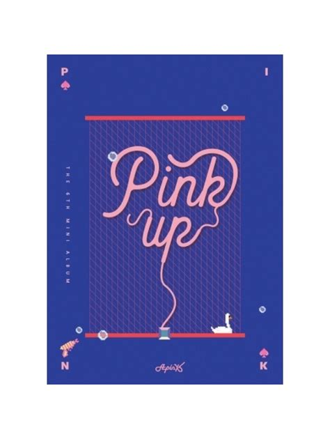 Apink Album Pink Up Blue Ver a pink pink up a b version