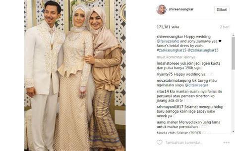 Desain Gaun Zaskia Sungkar | bertabur swarovski shireen sungkar bangga desain gaun