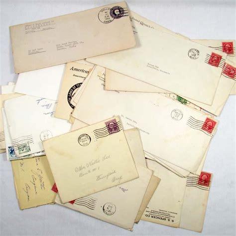 vintage pattern envelopes large lot of vintage envelopes w stamps early 1