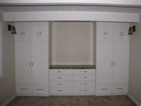 bedroom wall cabinets wall units machnee custom woodworking