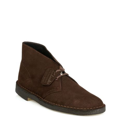 clarks mens original desert boots 5 colours leather or