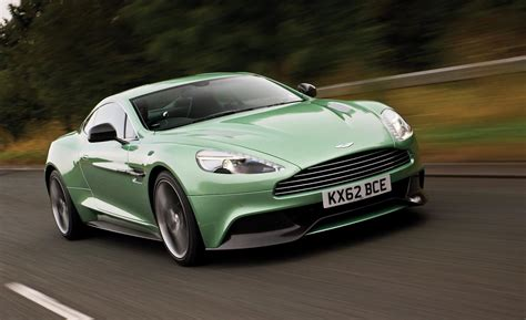 aston martin vanquish car and driver
