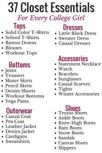 37 closet essentials for every college 187 five foot