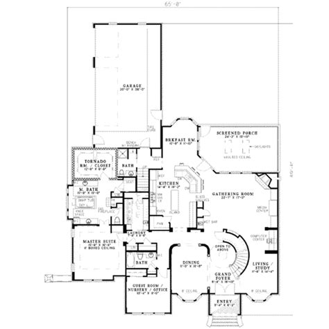 european style floor plans european style house plan 5 beds 5 baths 3692 sq ft plan