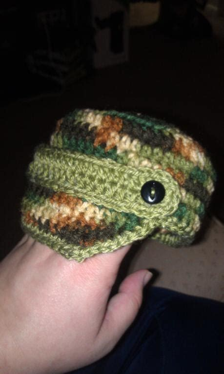 crochet pattern army hat